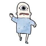 Cartoon cyclops Royalty Free Stock Image