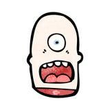 Cartoon cyclops Royalty Free Stock Images