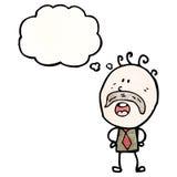 Cartoon dad Stock Image