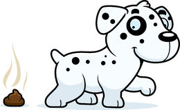 Cartoon Dalmatian Poop Stock Photo