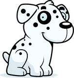 Cartoon Dalmatian Sitting Stock Photos