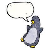 cartoon dancing penguin Royalty Free Stock Photos