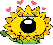 Cartoon Dandelion Lion Love Royalty Free Stock Images