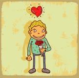 Cartoon date  illustration, vector icon Stock Photo