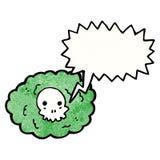 Cartoon death cloud Stock Image