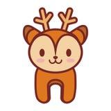 Cartoon deer animal image Stock Photos