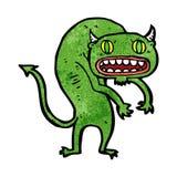 Cartoon demon Royalty Free Stock Image