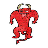 Cartoon demon Royalty Free Stock Images