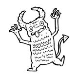 Cartoon demon Stock Photos