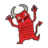 cartoon demon Royalty Free Stock Image