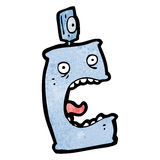 Cartoon deodorant can Royalty Free Stock Images