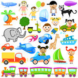 Cartoon design element Royalty Free Stock Image