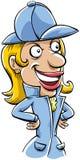 Cartoon Detective Stock Photo