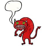 Cartoon devil Stock Photo