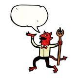 Cartoon devil Stock Photos