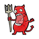 Cartoon devil Royalty Free Stock Images
