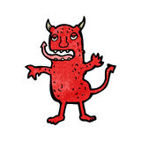 Cartoon devil Stock Photos
