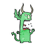 Cartoon devil Stock Images