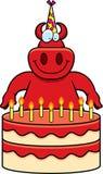 Cartoon Devil Birthday Royalty Free Stock Photo