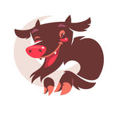 Cartoon devil character Stock Photos