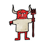 Cartoon devil man Royalty Free Stock Images