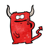 Cartoon devil Stock Image