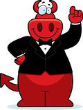 Cartoon Devil Tuxedo Royalty Free Stock Photos