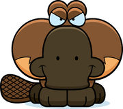 Cartoon Devious Platypus Stock Image