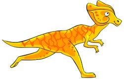 Cartoon dinosaur. Stock Image