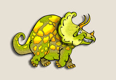Cartoon dinosaur Royalty Free Stock Images