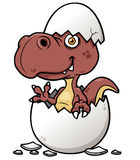 Cartoon Dinosaur baby Royalty Free Stock Image