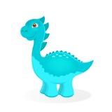 Cartoon dinosaur character Royalty Free Stock Photo