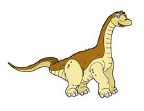 Cartoon dinosaur - illustration for children Royalty Free Stock Image