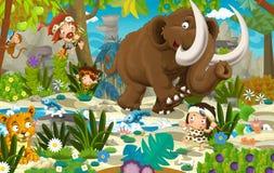 Free Cartoon Dinosaur Land Stock Images - 56256694