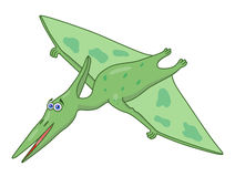 Cartoon dinosaur pteranodon Royalty Free Stock Photos