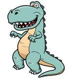 Cartoon dinosaur. Vector illustration of cartoon dinosaur Stock Image