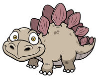 Cartoon dinosaur Royalty Free Stock Photography
