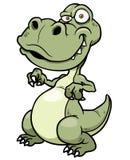 Cartoon dinosaur Stock Images
