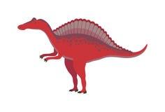 Cartoon dinosaur vector illustration. Stock Images