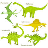 Cartoon dinosaurs Stock Photo