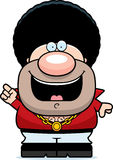 Cartoon Disco Guy Idea Stock Photo