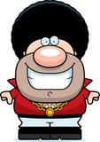 Cartoon Disco Guy Smiling Royalty Free Stock Image