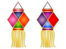 Cartoon Diwali Lantern Clipart Royalty Free Stock Photos