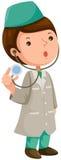 Cartoon doctor Stock Photos