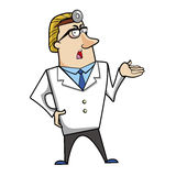 Cartoon Doctor Royalty Free Stock Images
