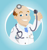 Doctor - Cartoon Character - Vector Illustration Royalty Free Stock Photography