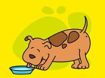 Cartoon dog. Royalty Free Stock Photo