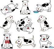 Cartoon dog. Stock Photography