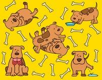 Cartoon dog. Stock Images