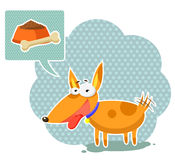 Cartoon dog Royalty Free Stock Photos